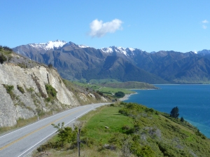 Lake Hawea highway