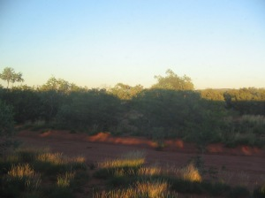 Ghan Outback sunrise