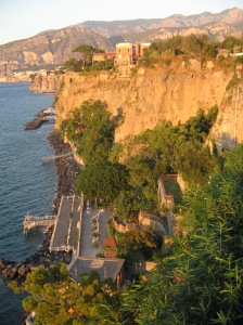 sorrento coastline