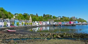 Tobermory Harbour.