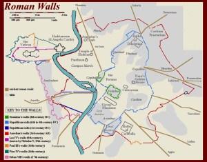Rome's Walls.