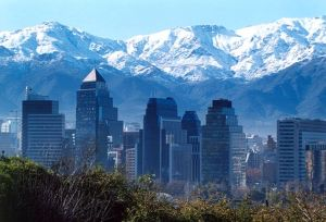 santiago and andes.
