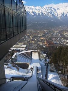 Bergisel Ski Jump view