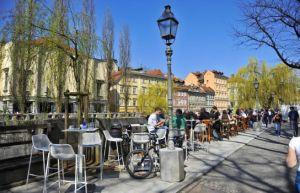 Cafe culture ljubljana