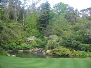 1huka lodge garden