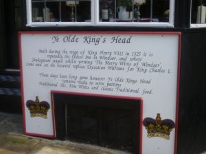 Ye Old Kings Head