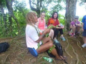 Pa Cross-island trek and the puanini flower
