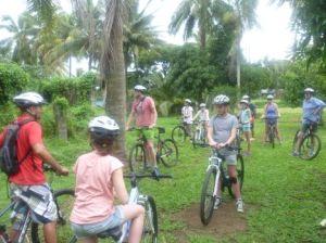 Storytellers Dave visiting plantation