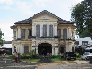 Old Phuket town colonial mansion