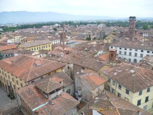 View over Lucca