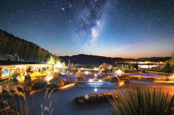 Tekapo Springs Under The Stars.