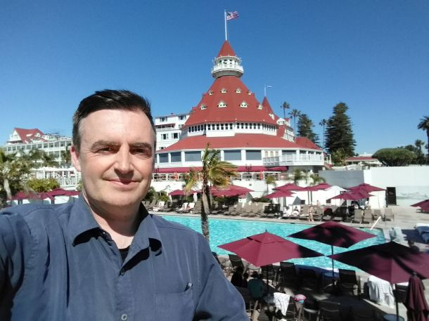 mike at hotel del coronado